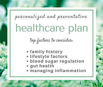 Your Personal & Preventative Healthcare Plan
