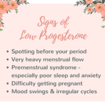 7 Signs of Low Progesterone & Tips for Hormone Balance